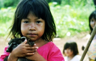 Guarani little girl