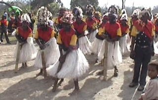 Yagaria people traditional dance