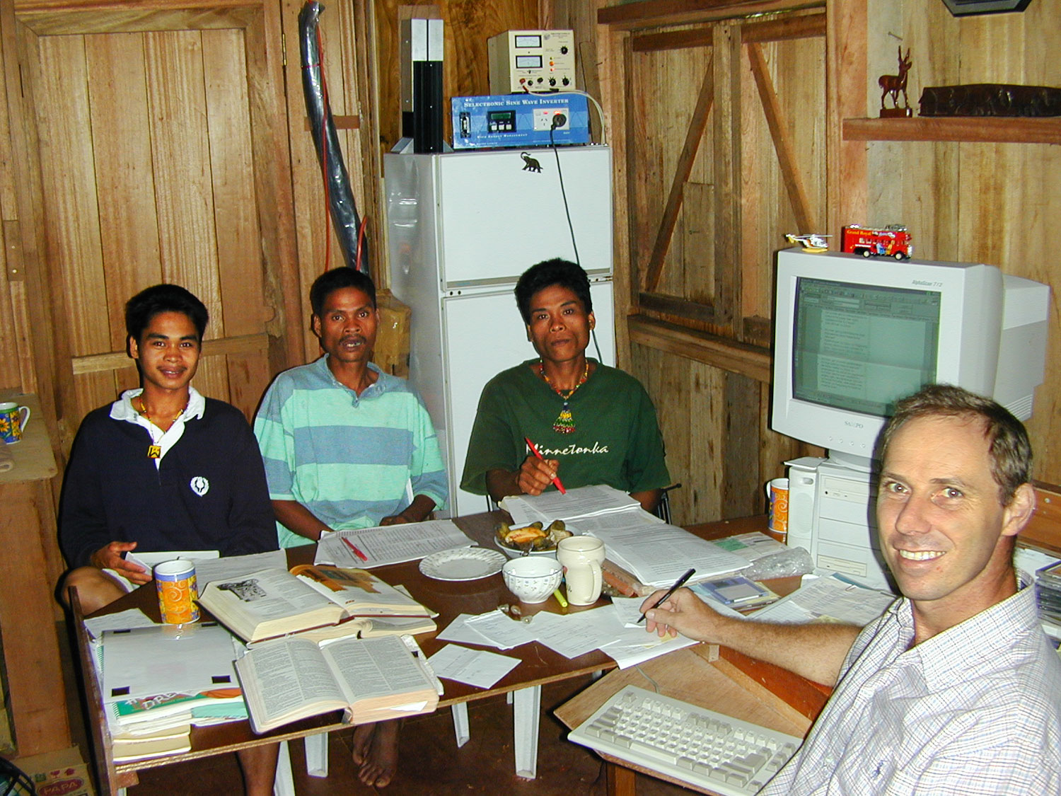NTM's consultants give encouragement, direction and vital tools to missionaries.