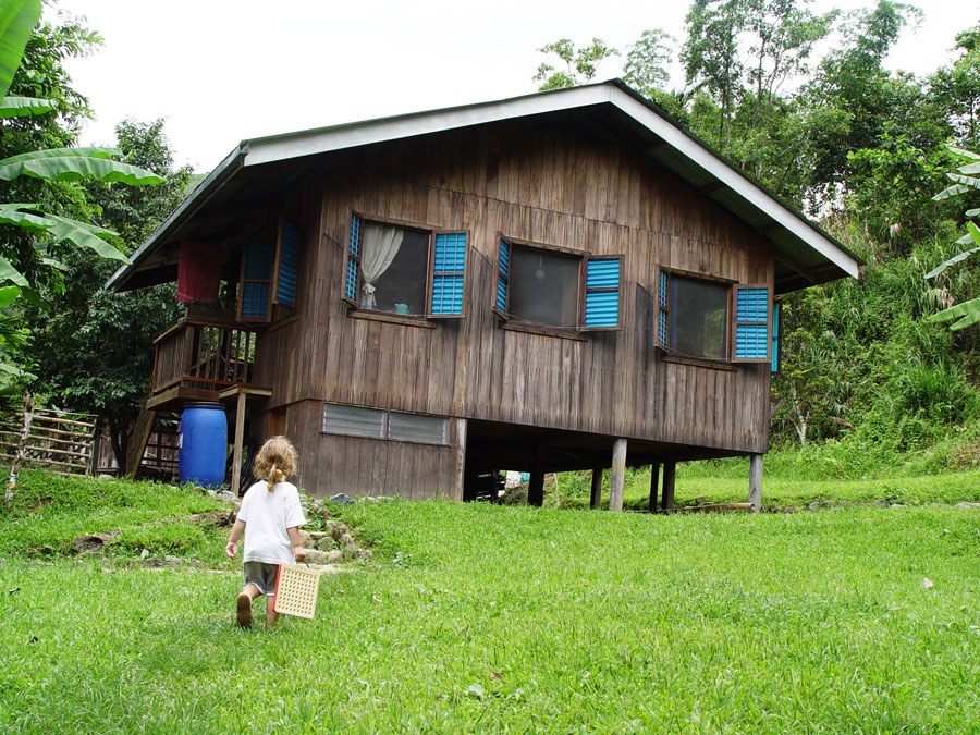 Isnag house in the Philippines