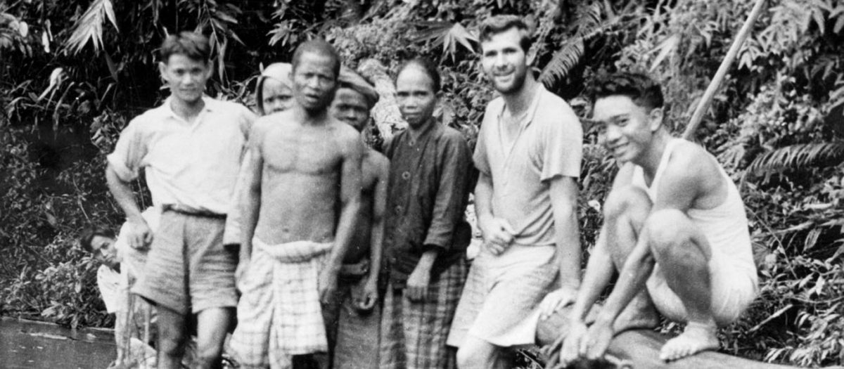 Header-Early Missionaries with Tribal Men