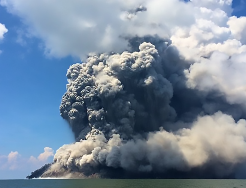 Volcanic Eruption Alters Outreach Plans