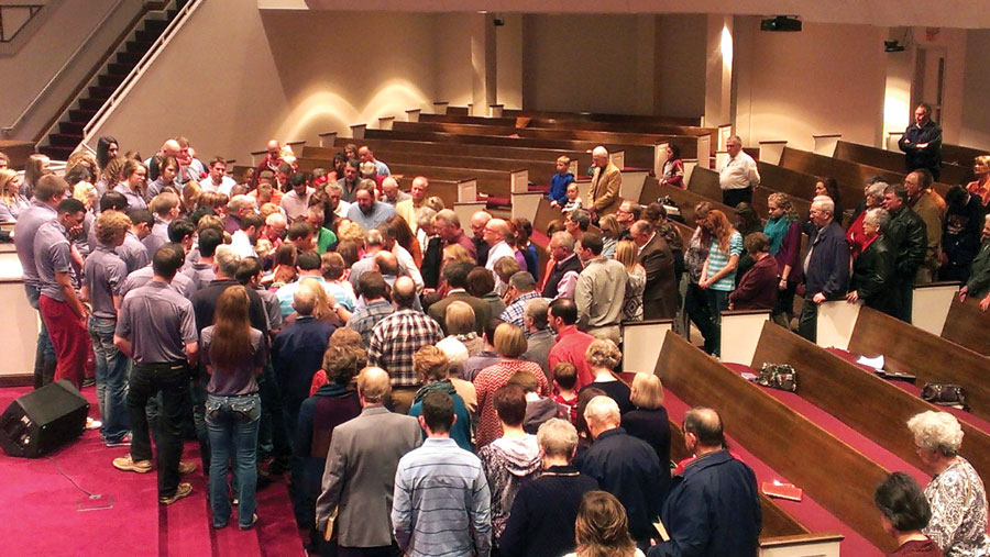commissioning service for Hambrices