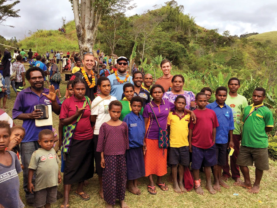 part of the missionary team with Wantakia people