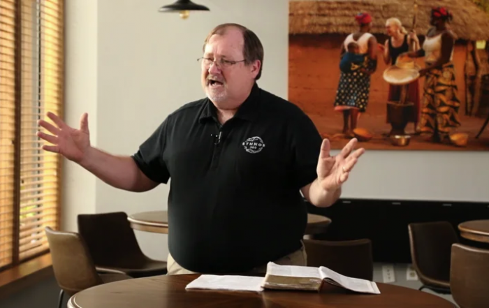 Don Woody talking about God's heart for the nations