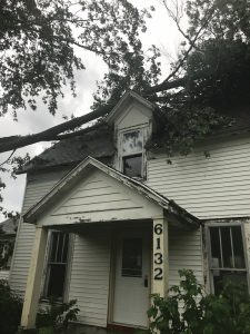 a run down house to be fixed up for missionaries