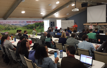 class at Emanate, Ethnos Canada's missionary training centre