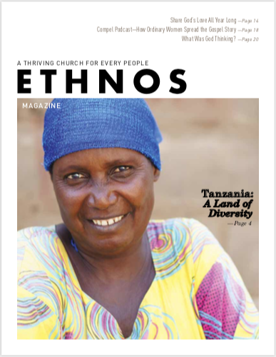 December 2019 Ethnos Magazine cover - smiling African woman