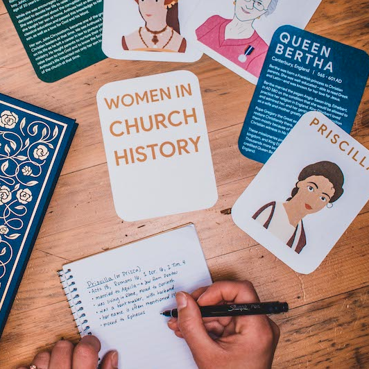 women in church history cards