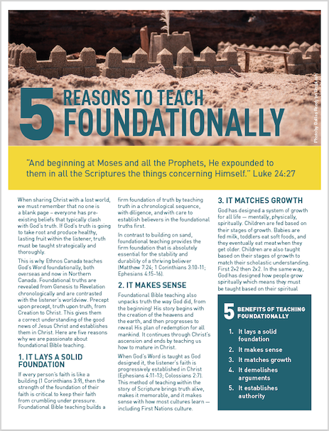 Indigenous Ministries newsletter cover