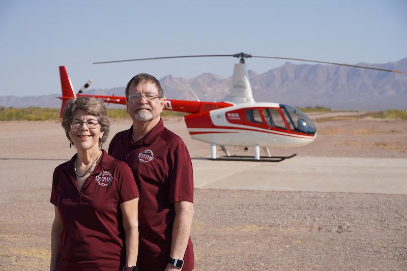 Phil and Ellen Koop, Ethnos360 Aviation missionaries