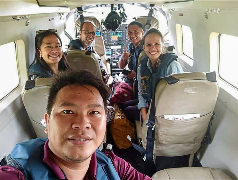 Ready for their first flight to Tugutil